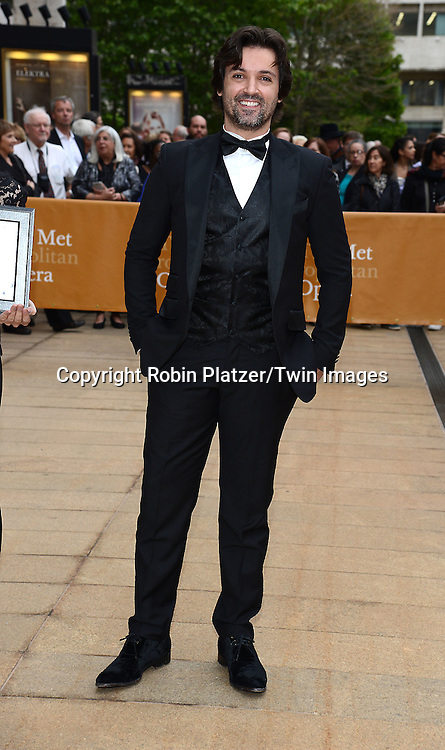 Angel Curella attends the American Ballet Theatre's 75th Anniversary Spring Gala on May 18, 2015 at the Metropolitan Opera House in New York, New York, USA.<br /> <br /> photo by Robin Platzer/Twin Images<br />  <br /> phone number 212-935-0770