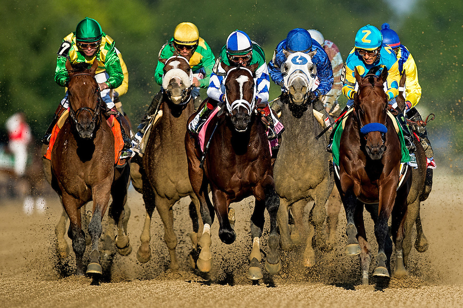 American Pharoah and Victor Espinoza win the Belmont Stakes and the first Triple Crown since 1978. (PHOTO BY ANDREW HANCOCK)