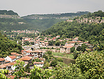 Veliko Tarnovo and the Yantra River, Bulgaria