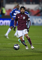 21 November 2010:  Colorado Rapids defender Scott Palguta #29 in action during the 2010 MLS CUP between the Colorado Rapids and FC Dallas at BMO Field in Toronto, Ontario Canada..The Colorado Rapids won 2-1 in extra time....