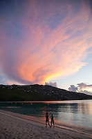 Sunset at Magen's Bay<br />