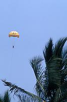 Person parasailing in Puerto Vallarta, Jalisco, Mexico