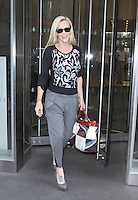 NEW YORK, NY - SEPTEMBER 27: Jenny McCarthy seen leaving SiriusXM studios in New York City. September 27, 2016. Credit: RW/MediaPunch