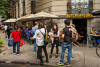 Butchers and Sons Restaurant, Colonia Roma, mexico City, Mexico