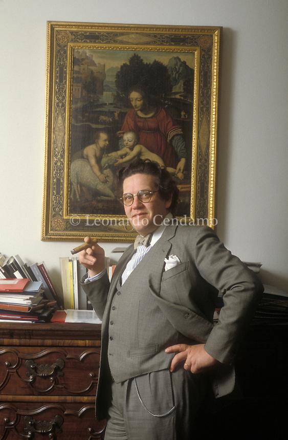 1998, PHILIPPE D\'AVERIO CRITICO D\'ARTE;  © Leonardo Cendamo