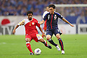 (L to R) Ali Al Jabri (OMA), Yasuhito Endo (JPN), .June 3, 2012 - Football / Soccer : .FIFA World Cup Brazil 2014 Asian Qualifier Final Round, Group B .match between Japan 3-0 Oman .at Saitama Stadium 2002, Saitama, Japan. .(Photo by Daiju Kitamura/AFLO SPORT) [1045]