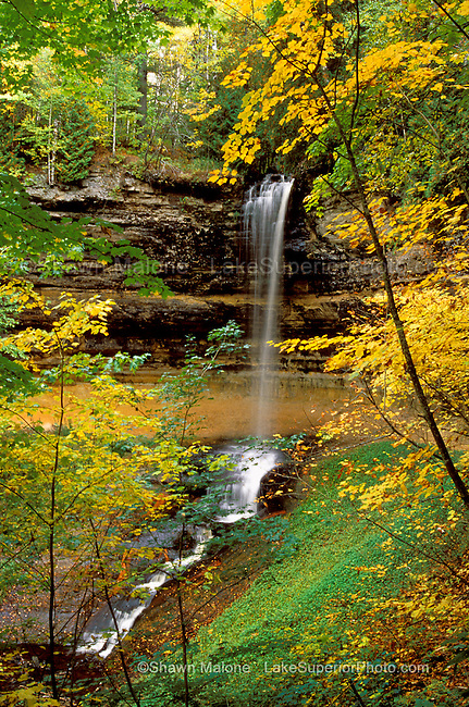 Munising Falls, Munising Michigan