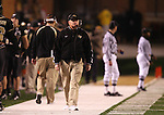 18 November 2006: Wake Forest head coach Jim Grobe watches a replay on the scoreboard. The Virginia Tech Hokies defeated the Wake Forest University Demon Deacons 27-6 at Groves Stadium in Winston-Salem, North Carolina in an Atlantic Coast Conference NCAA Division I College Football game.
