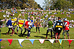 The Knights Tournament, Marvel at the medieval knights as they take on the ultimate tournament. Fully armoured and ready to do battle, watch our knights in hand to hand combat, archery competitions and much more Newport Isle of Wight England UK