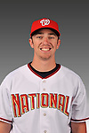 14 March 2008: ..Portrait of Anthony Benner, Washington Nationals Minor League player at Spring Training Camp 2008..Mandatory Photo Credit: Ed Wolfstein Photo