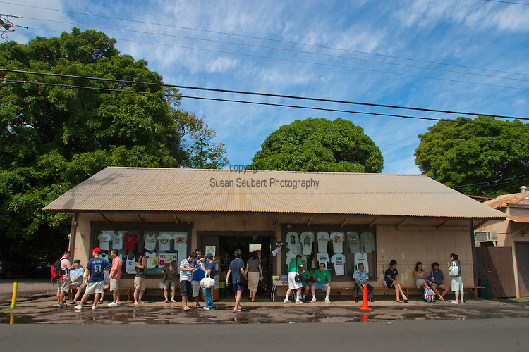 Matsumoto Shave Ice located on Oahu's North Shore in Haleiwa, Hawaii