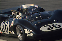 Dan Gurney driving a Lola T70, CAN AM series, 1967