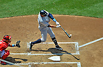17 June 2012: New York Yankees third baseman Alex Rodriguez in action against the Washington Nationals at Nationals Park in Washington, DC. The Yankees defeated the Nationals 4-1 to sweep their 3-game series. Mandatory Credit: Ed Wolfstein Photo