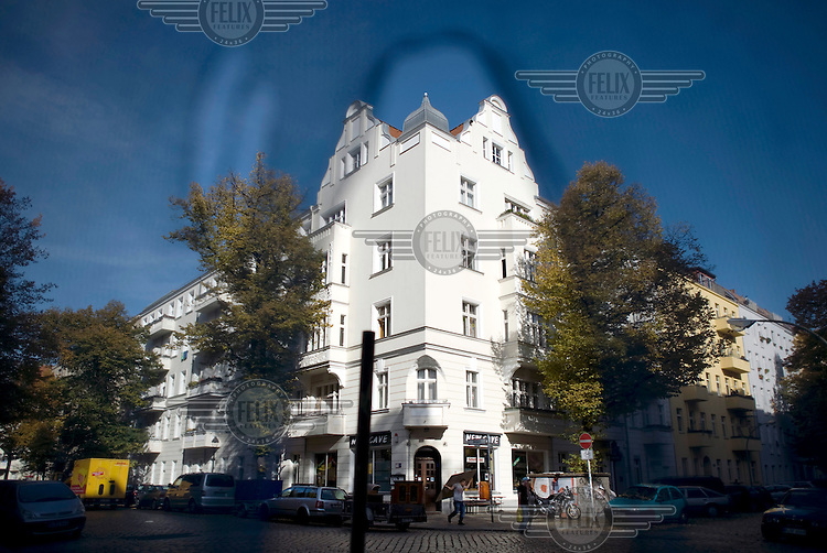 New renovated house at the Schillerkiez in Berlin Neukoelln.