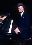 Van Cliburn, Jan 1978, Fresno, CA. American pianist who achieved worldwide recognition in 1958, when at age 23, he won the first quadrennial International Tchaikovsky Piano Competition in Moscow, at the height of the Cold War.