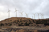 Wind Turbines, near Taff, California