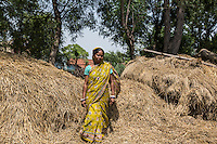 """Gurubari Mahato, 35 years old, from  Dhatkidih. In 2009, she was accused of witchcraft by a bride living in the same village, who fell sick just hours before her marriage. After being attacked and threatened with rape by the bride's brother, she finally had her case dismissed during a village meeting. """"I just saved myself because I had enough money to keep on fighting against my accusers. Otherwise, I would have faced so many problems""""."""