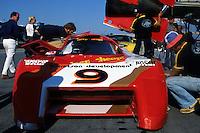 DAYTONA BEACH, FL - JANUARY 31: Bobby Rahal in the March 82G 1/Chevrolet during practice for the 24 Hours of Daytona on January 31, 1982, at Daytona International Speedway in Daytona Beach, Florida.