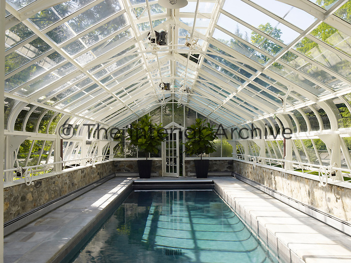 Simon upton the interior archive for Swimming pool converted to greenhouse