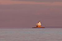 Long Beach Bar Lighthouse (Bug Light)<br /> Orient Point, Long Island