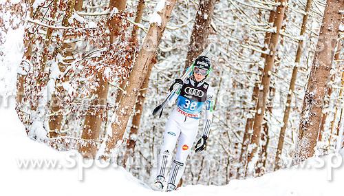 05.01.2017, Paul Ausserleitner Schanze, Bischofshofen, AUT, FIS Weltcup Ski Sprung, Vierschanzentournee, Bischofshofen, Training, im Bild Cene Prevc (SLO) // Cene Prevc (SLO) before the Practice Jump for the Four Hills Tournament of FIS Ski Jumping World Cup at the Paul Ausserleitner Schanze in Bischofshofen, Austria on 2017/01/05. EXPA Pictures © 2017, PhotoCredit: EXPA/ JFK