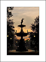 Memphis Tennessee - Sunset in the Park