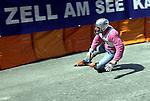 1. Inline Downhill Weltmeisterschaft, Zell am See (Austria) Sturz