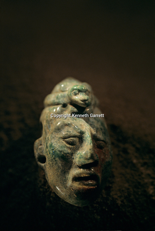 Ancient Cultures; Americas; Maya; Palenque; Mexico; Chiapas; Tomb; Temple of Inscriptions; Red Queen; Skull; Jade; Inlay