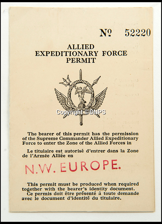 BNPS.co.uk (01202 558833)<br /> Pic: C&amp;T/BNPS<br /> <br /> Brenda's pass to Berlin in July 1945.<br /> <br /> A humble secretary's remarkable first hand archive of some of the most momentous events of WW2 has come to light.<br /> <br /> 'Miss Brenda Hart' worked in the Cabinet Office during the last two years of the war, travelling across the globe with the Allied leaders as the conflict drew to a close.<br /> <br /> Her unique collection of photographs and momentoes of Churchill, Stalin and other prominent Second World War figures have been unearthed after more than 70 years.<br /> <br /> The scrapbooks, which also feature Lord Mountbatten and Vyacheslav Molotov, were collated by Brenda Hart who, in her role as secretary to Churchill's chief of staff General Hastings Ismay, enjoyed incredible access to him and other world leaders.<br /> <br /> She also wrote a series of letters which give fascinating insights, including watching Churchill and Stalin shaking hands at the Bolshoi ballet in 1944, being behind Churchill as he walked out on to the balcony at the Ministry of Health to to wave to some 50,000 Londoners on VE day and even visiting Hitler's bombed out Reich Chancellery at the end of the war.<br /> <br /> This unique first hand account, captured in a collection of photos, passes, documents and letters are being sold at C&amp;T auctioneers on15th March with a &pound;1200 estimate.