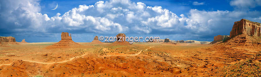 Monument Valley, Arizona, Indian, Tribal Park, CGI Backgrounds, ,Beautiful Background