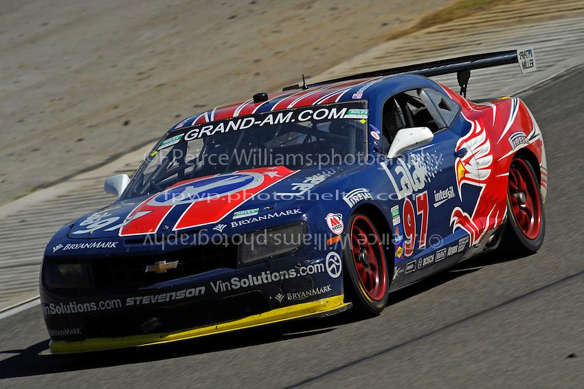 #97 Stevenson Motorsports Camaro GT.R of Magnussen & Schaldach
