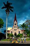 Costa Rica, San Jose, Church of La Merced, Oldest Church In SanJose, Braulio Carillo Park