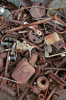 Stock Photo of Old Rusty Parts