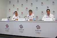 12.08.2012 - Team GB Organisers & Athletes - End of Games Press Conference