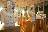Statues at the High Museum of Art. Over the next three years, the High Museum will feature hundreds of works of art from the Musée de Louvre.