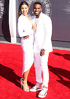 LOS ANGELES, CA, USA - AUGUST 24: Jordin Sparks, Jason Derulo at the 2014 MTV Video Music Awards held at The Forum on August 24, 2014 in the Los Angeles, California, United States. (Photo by Xavier Collin/Celebrity Monitor)