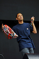 LONDON, ENGLAND - JULY1: Loyle Carner performing at British Summertime, Hyde Park on July 1, 2016 in London, England.<br /> CAP/MAR<br /> &copy;MAR/Capital Pictures /MediaPunch ****NORTH AND SOUTH AMERICAS ONLY***