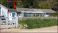 BNPS.co.uk (01202 558833) <br /> Pic: MartinGardner/BNPS<br /> <br /> The previous on the site suffered structual damage after a landslide.<br /> <br /> A coastal holiday home that was broken in half by a landslip has been completely rebuilt with a clever design to prevent it falling victim to the natural disaster again.<br /> <br /> The Crow's Nest has a floating structural frame that will act as an adjustable raft if there is any movement in the future and places for mechanical jacks to be positioned so the house can be securely re-levelled.<br /> <br /> The ingenious concept was created by AR Design Studio, who worked closely with engineers to come up with a structure that couldn't be broken if the land shifts again.<br /> <br /> After months of appalling weather, huge cracks started appearing in the ground in Lyme Regis, Dorset, in February 2014 as the Jurassic coastline shifted.