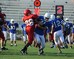Lafayette Middle School vs. Senatobia in Oxford, Miss. on Tuesday, August 24, 2010.