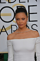 Thandie Newton at the 74th Golden Globe Awards  at The Beverly Hilton Hotel, Los Angeles USA 8th January  2017<br /> Picture: Paul Smith/Featureflash/SilverHub 0208 004 5359 sales@silverhubmedia.com