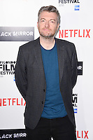 LONDON, ENGLAND. October 6, 2016: Charlie Brooker at the London Film Festival premiere for &quot;Black Mirror&quot; at the Bluebird Cafe, Chelsea, London.<br /> Picture: Steve Vas/Featureflash/SilverHub 0208 004 5359/ 07711 972644 Editors@silverhubmedia.com