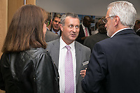 Richard Altoft of Handelsbanken West Bridgford chats to guests