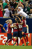 The USA defeated Panama on a Clint Dempsey goal, 1-0 in the Semi-Final match of the CONCACAF 2011 Gold Cup, at Reliant Stadium, in Houston, Texas, Wednesday, June 22, 2011.