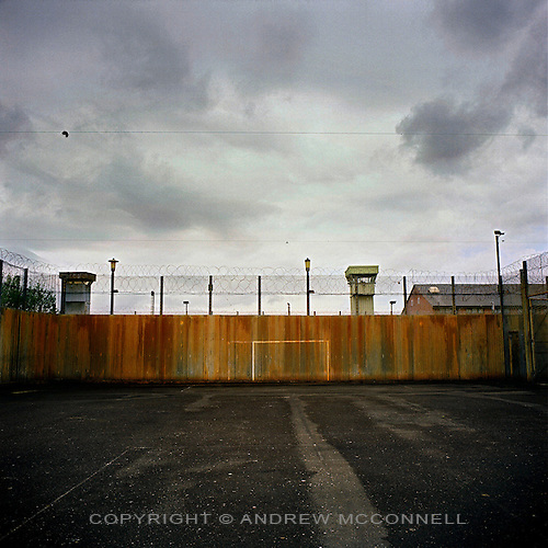 The Maze Prison near Lisburn, Northern Ireland, on Tuesday, May. 16, 2006. HM Maze Prison, also known as Long Kesh and the H-Blocks, held some of the most dangerous men in Europe during its 30 year operation. The prison closed in September 2000 after 428 prisoners had been released under the Good Friday Agreement. There are now plans to turn the abandoned site into a national football stadium.