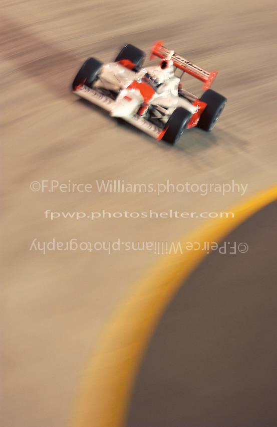 IRL IndyCar Series Firestone Indy 200 at Nashville Superspeedway, Nashville,Tennesee, USA 19 July,2003. Gil de Ferran sweeps through turn 2..World Copyright©F.Peirce Williams 2003 .ref: Digital Image Only..F.Peirce Williams Photography.20517-J Sterling Bay Lane West  Cornelius,NC 28031 USA.phone: 704.892.9104 mobile: 937.367.4401 .email: FPWPhoto@aol.com   www.fpwp.com..