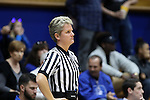 13 November 2016: Official Jennifer Rezac. The Duke University Blue Devils hosted the University of Pennsylvania Quakers at Cameron Indoor Stadium in Durham, North Carolina in a 2016-17 NCAA Division I Women's Basketball game. Duke defeated Penn 68-55.