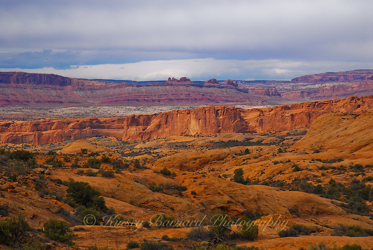 &quot;PAINTED DESERT&quot;<br /> <br /> Beautiful landscape photo of Arches National Park, Utah. Truly this landscape looks like a painting. Who but Mother Nature could paint such a scene?