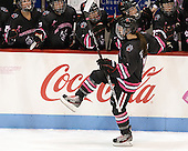 Brittany Esposito (NU - 7) - The Northeastern University Huskies defeated the visiting Providence College Friars 8-7 on Sunday, January 20, 2013, at Matthews Arena in Boston, Massachusetts.