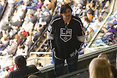 Fan during ice-hockey match between Los Angeles Kings and Colorado Avalanche in NHL league, Februar 26, 2011 at Staples Center, Los Angeles, USA. (Photo By Matic Klansek Velej / Sportida.com)