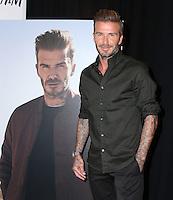 SEP 26 David Beckham Launches New H&M Modern Essentials Campaign